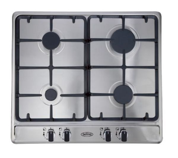 BELLING GHU60GC Gas Hob - Stainless Steel
