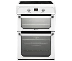 HOTPOINT HUI612P Electric Induction Cooker - White Best Price, Cheapest Prices