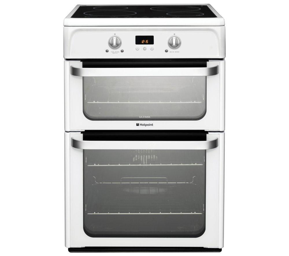 HOTPOINT HUI612P Electric Induction Cooker - White