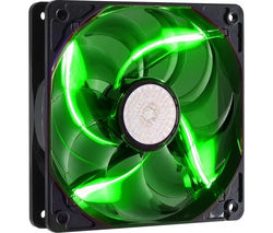 COOLERMASTER SickleFlow 120 mm Case Fan - Green LED