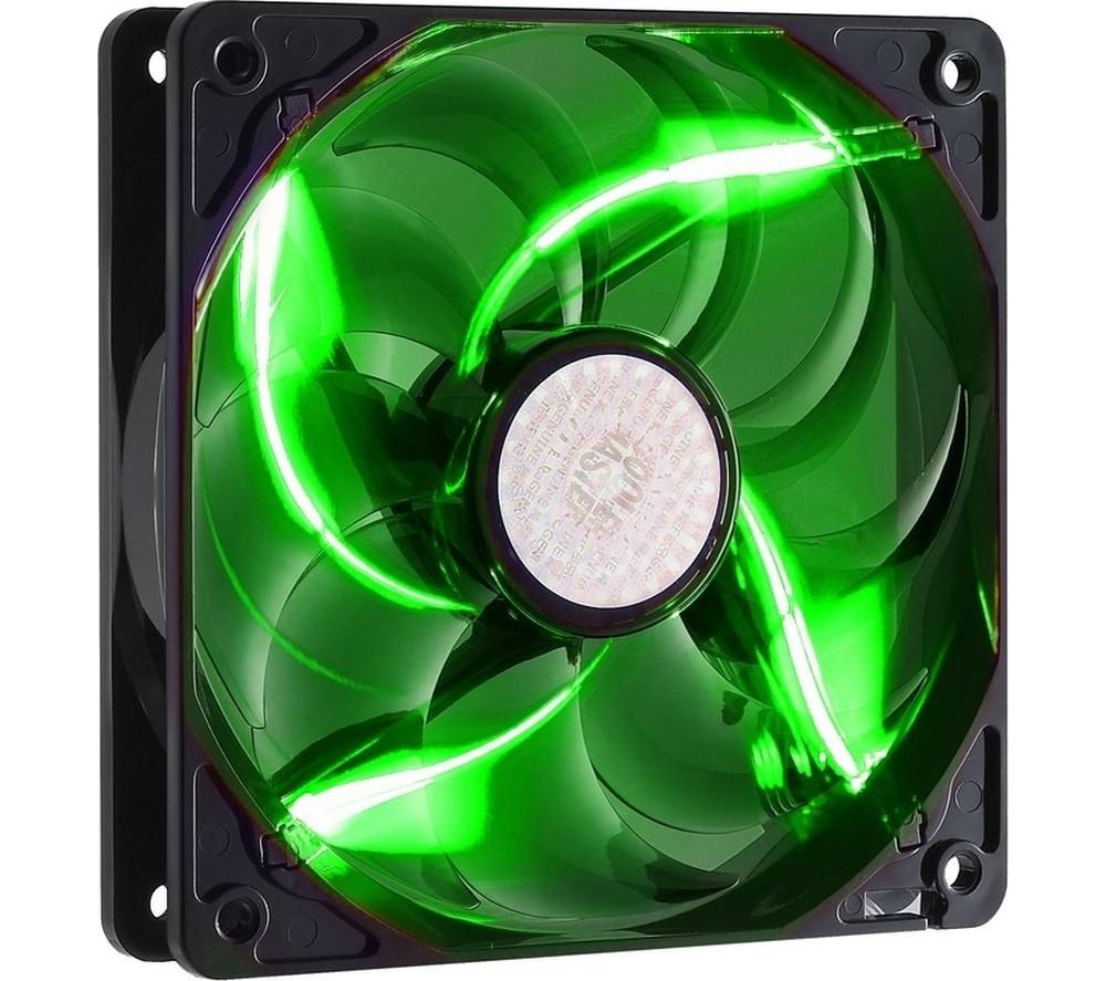 COOLER MASTER SickleFlow 120 mm Case Fan - Green LED