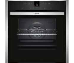 NEFF B47CR32N0B Slide and Hide Electric Oven - Stainless Steel