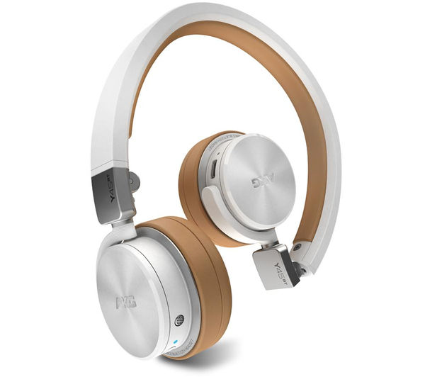 Image of AKG Y45BT Wireless Bluetooth Headphones - White