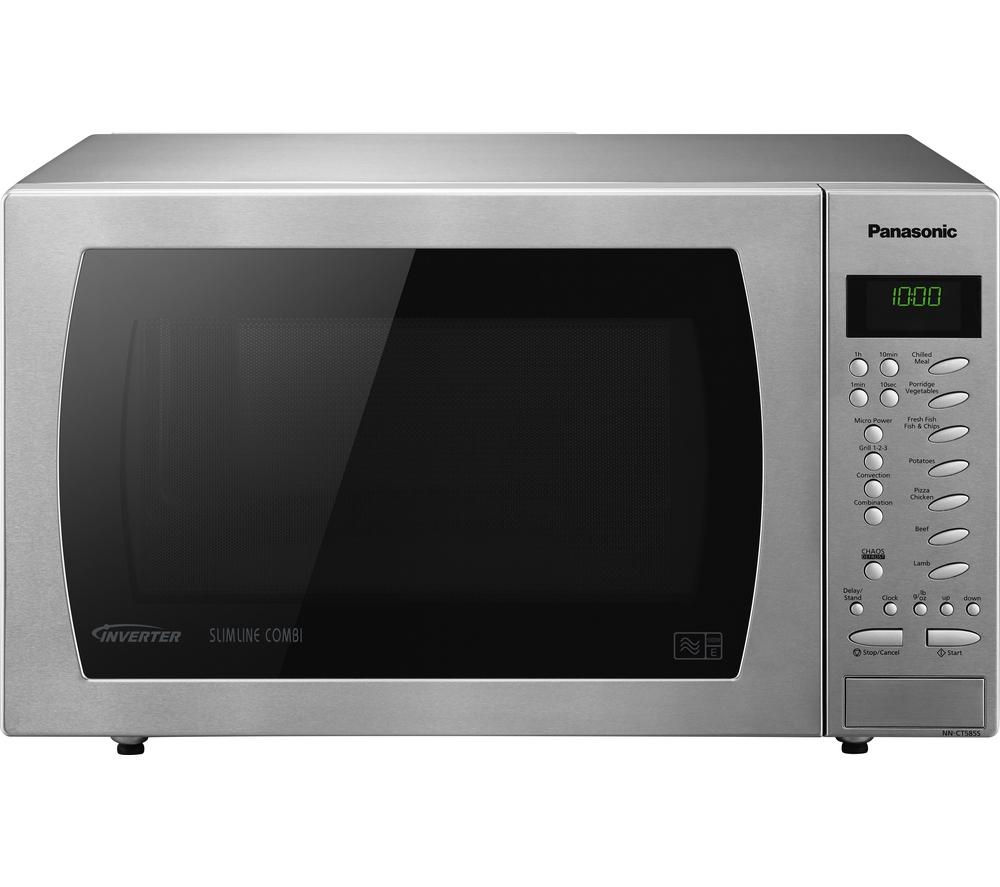 Microwave Oven Stainless Steel: Buy PANASONIC NN-CT585SBPQ Combination Microwave