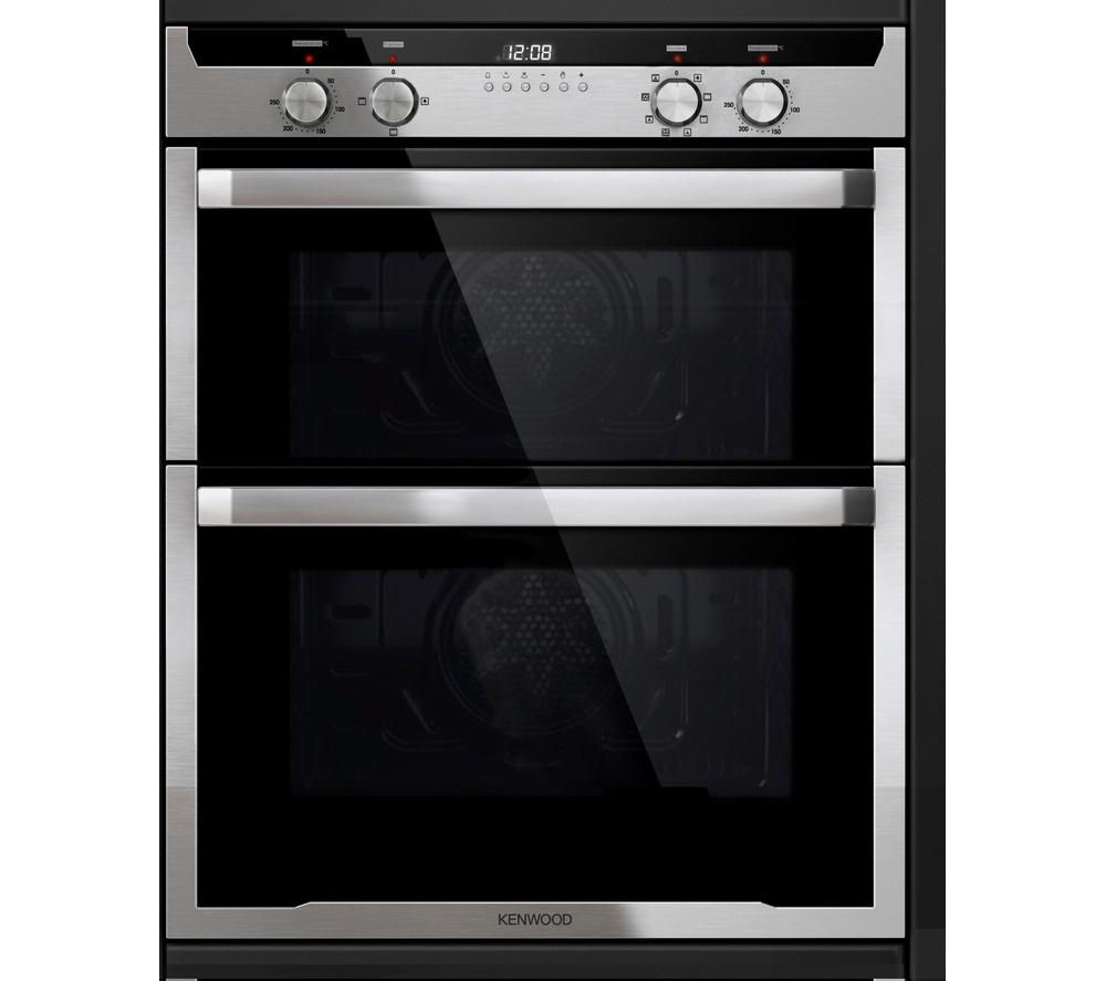 KENWOOD KD1701SS Electric Built-under Double Oven - Stainless Steel, Stainless Steel Review thumbnail