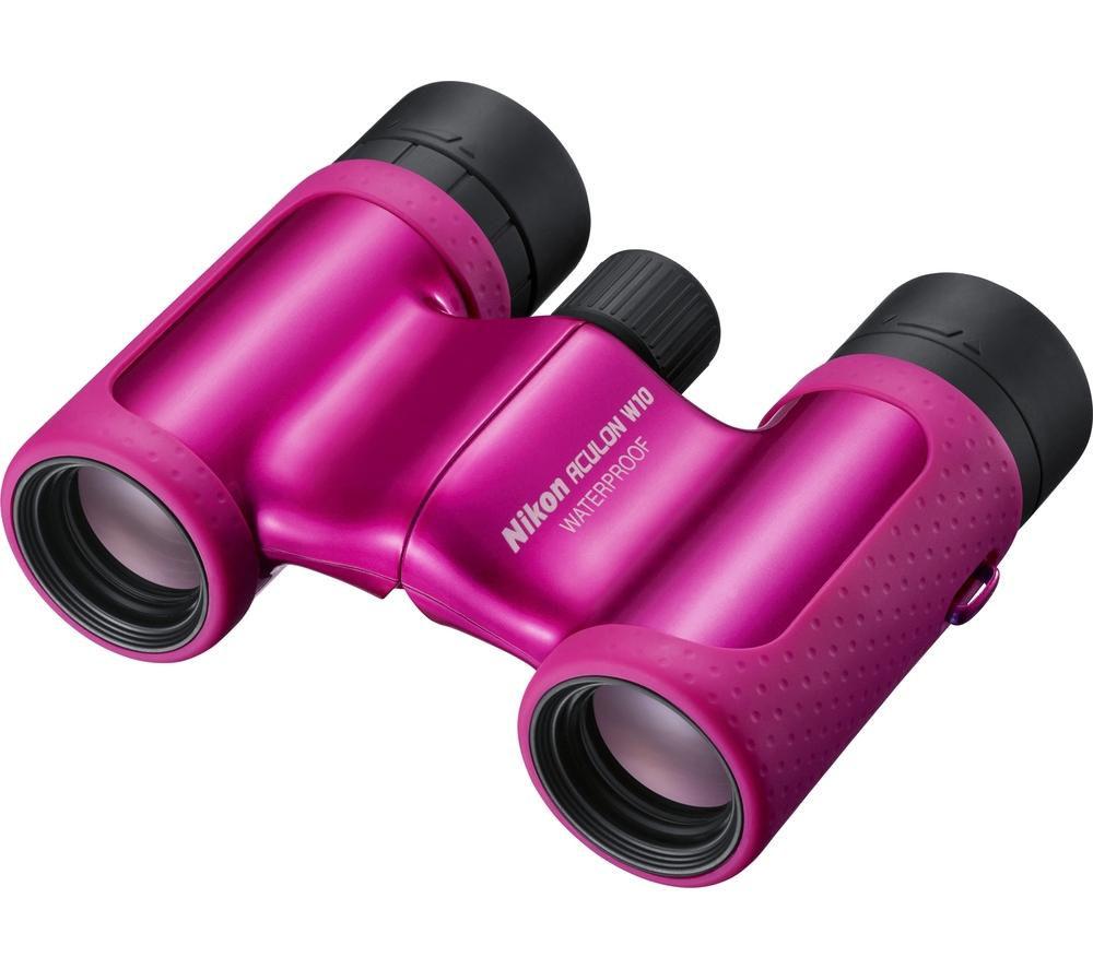 NIKON Aculon W10 8X21 8 x 21 mm Binoculars - Pink