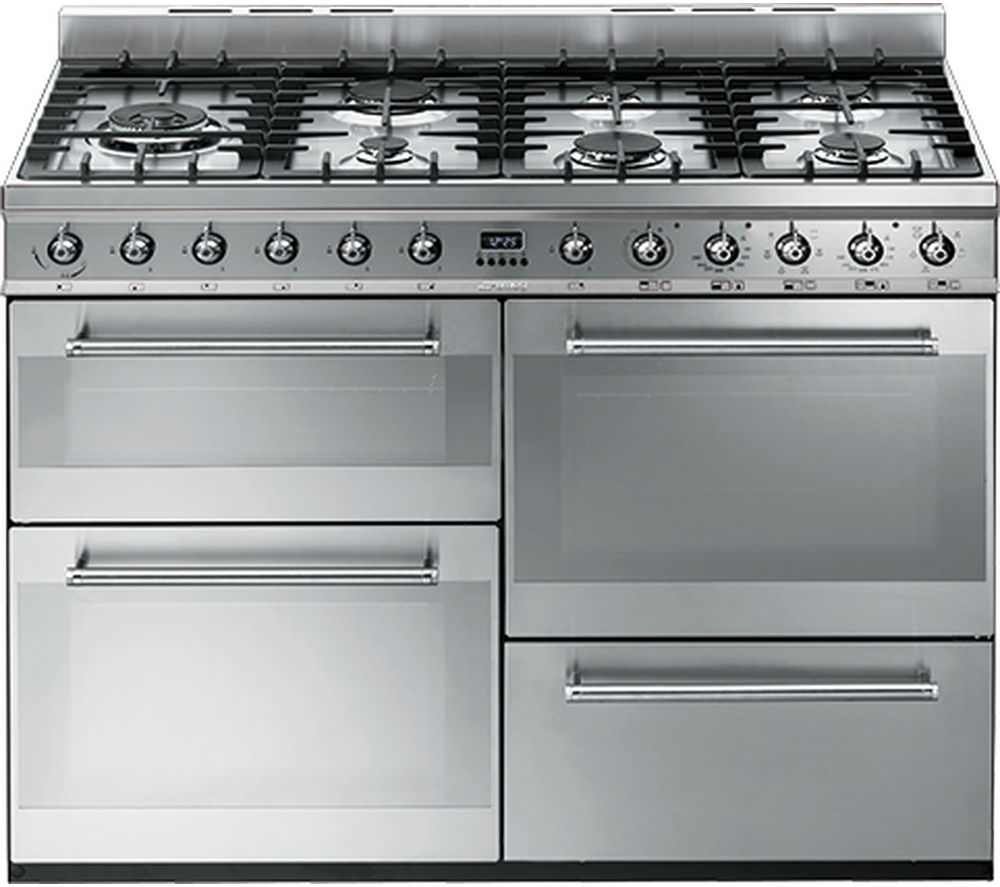 Compare prices for Smeg Symphony SYD4110 110cm Dual Fuel Range Cooker