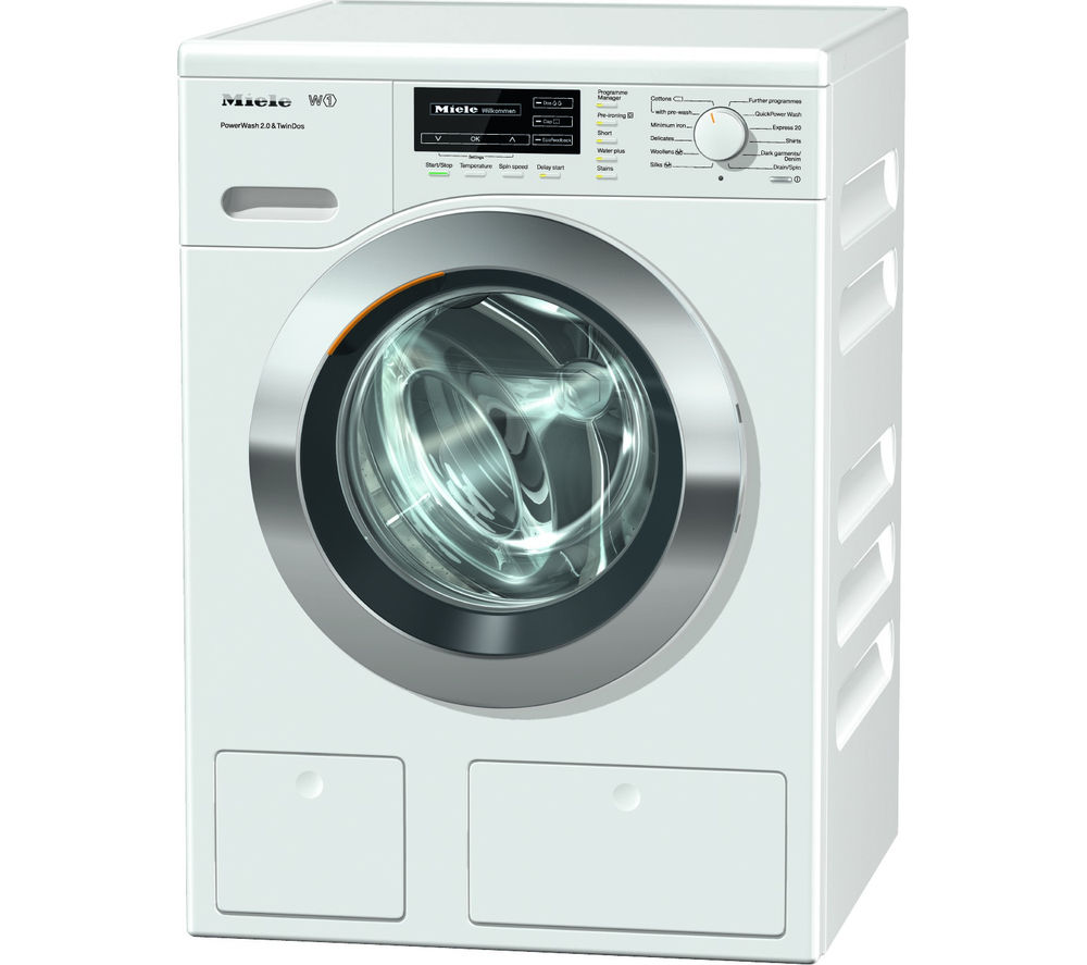 Buy Miele Wkh121 Washing Machine White Free Delivery