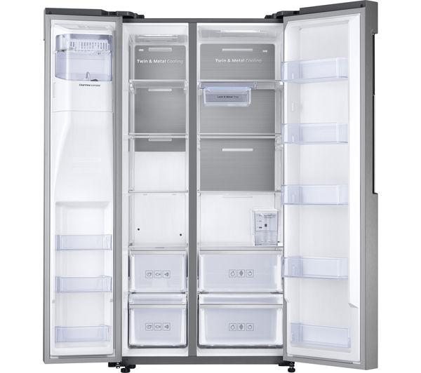 samsung rs58k6487sl fridge freezer easy clean steel