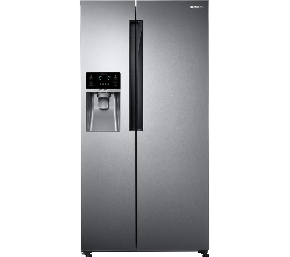 SAMSUNG RS58K6487SL American-Style Fridge Freezer - Easy Clean Steel