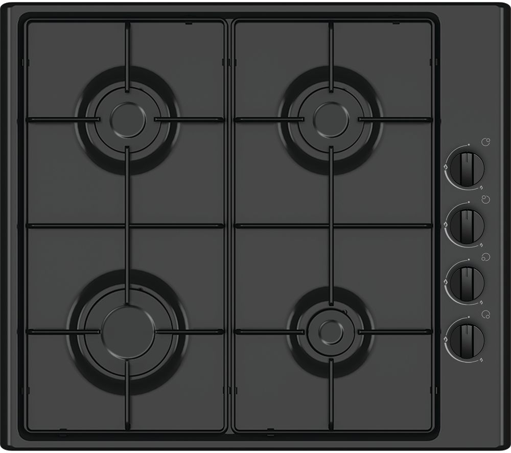ESSENTIALS CGHOBB16 Gas Hob - Black