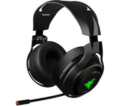 RAZER Man O' War Wireless 7.1 Gaming Headset - Black