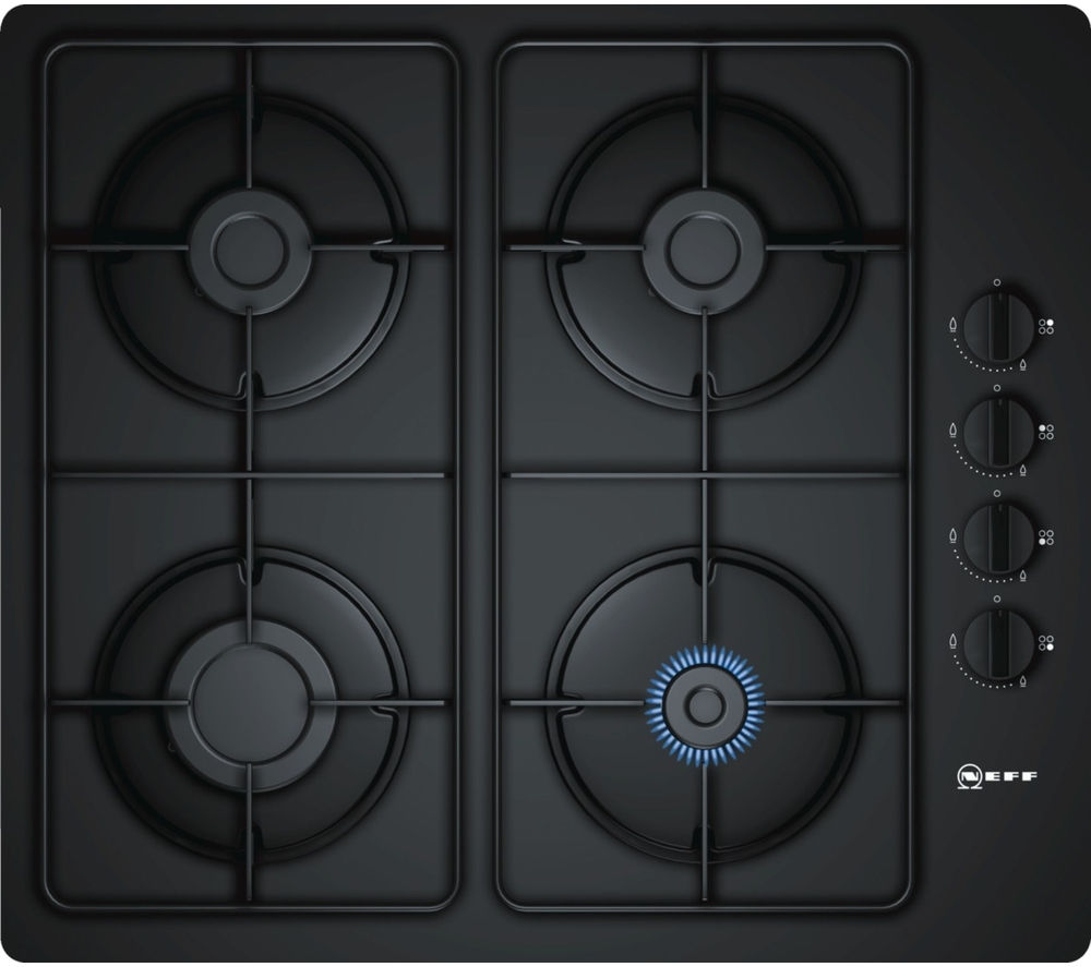 NEFF N30 T26CR48S0 Gas Hob - Black