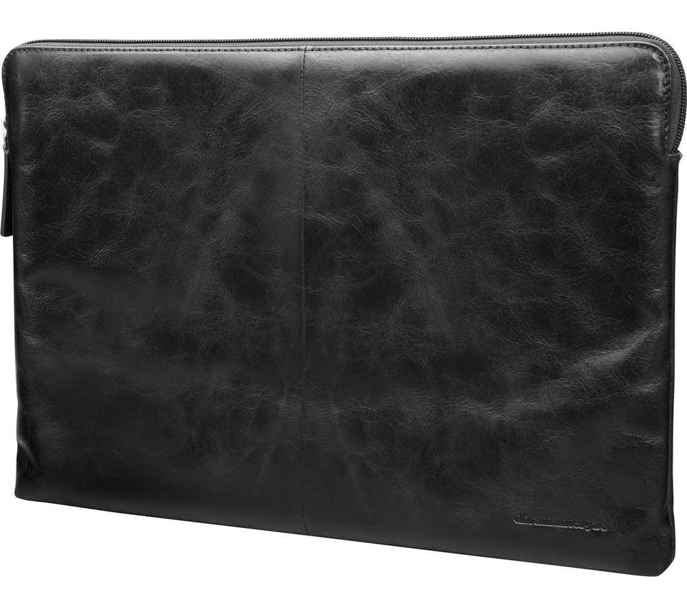 """DBRAMANTE Skagen 13"""" MacBook Leather Case - Black"""