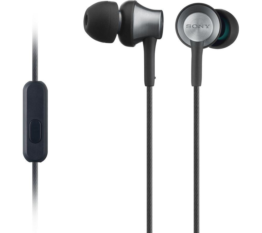 SONY MDR-EX650AP Headphones - Black