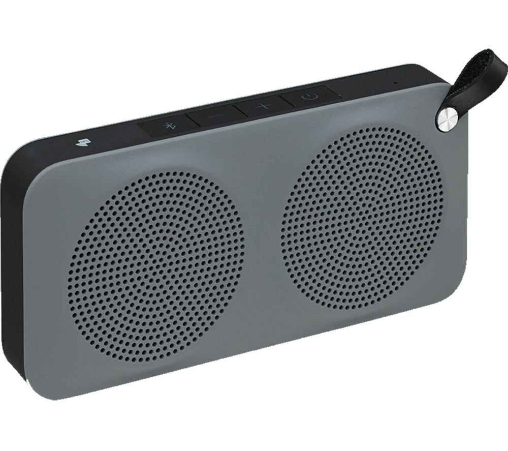 JVC SP-AD60-H Portable Bluetooth Wireless Speaker - Black & Grey