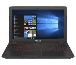 "ASUS Republic of Gaming FX553 15.6"" Gaming Laptop - Black"