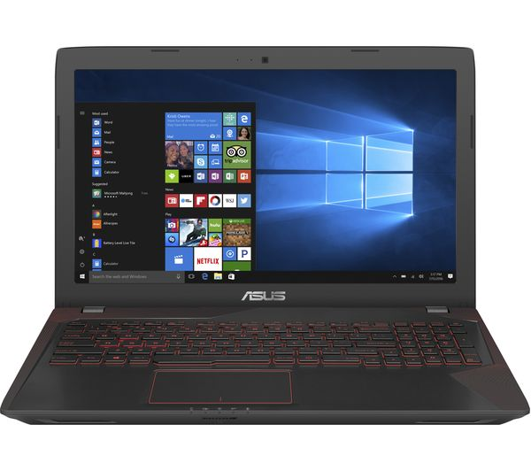 "Image of ASUS Republic of Gamers FX553 15.6"" Gaming Laptop - Black"