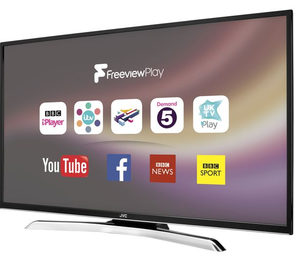 buy jvc lt 49c770 49 smart led tv free delivery currys. Black Bedroom Furniture Sets. Home Design Ideas