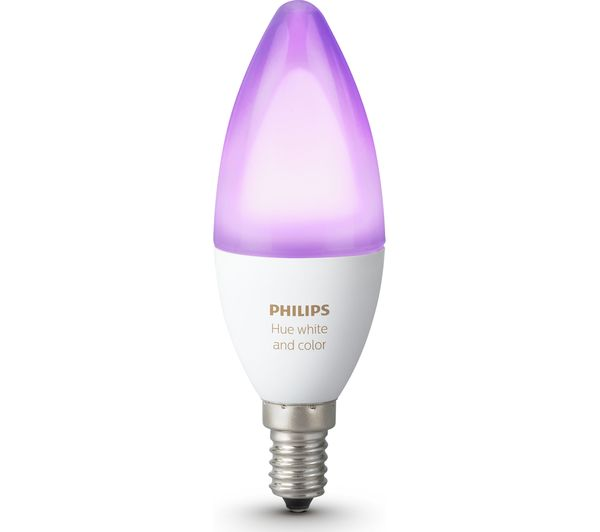 Buy Philips Hue White Amp Colour Ambience Smart Led Bulb