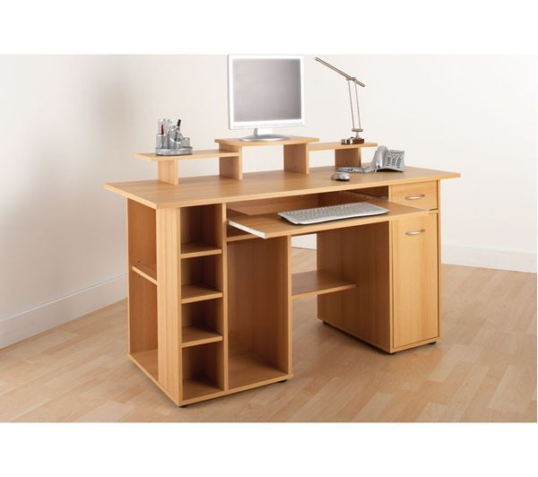 Alphason San Go Desk Beech