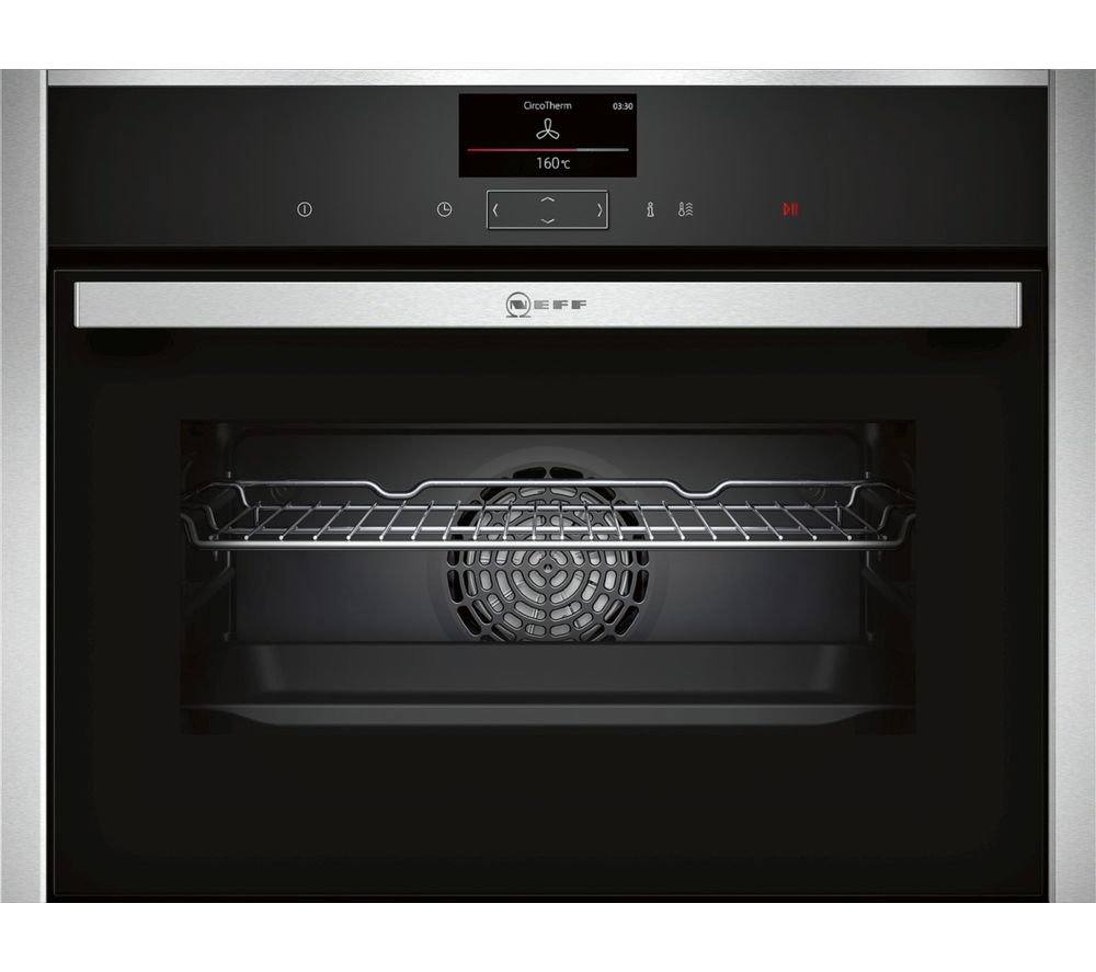 NEFF C27CS22N0B Compact Electric Oven - Stainless Steel