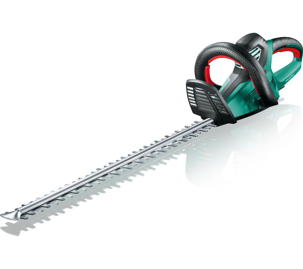 Image of BOSCH AHS 65-34 Electric Hedge Trimmer - Black & Green, Black