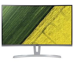 "ACER ED273wmidx Full HD 27"" Curved LED Monitor - White"