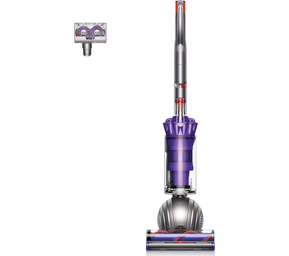 DYSON Light Ball Animal Upright Bagless Vacuum Cleaner - Iron & Purple