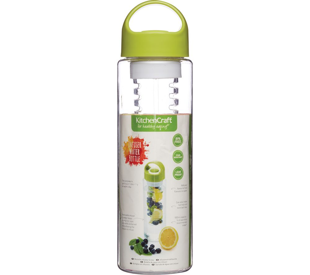 Compare prices for Kitchen CRAFT 500 ml Infuser Water Bottle