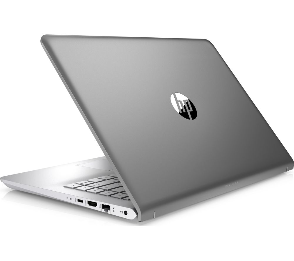 """HP Pavilion 14-bk153sa 14"""" Laptop - Silver, Silver"""