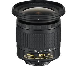 AF-P DX NIKKOR 10-20 mm f/4.5-5.6G VR Wide-angle Zoom Lens