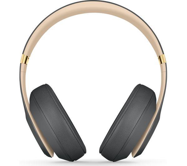 BEATS Studio 3 Wireless Bluetooth Noise-Cancelling Headphones - Shadow Grey