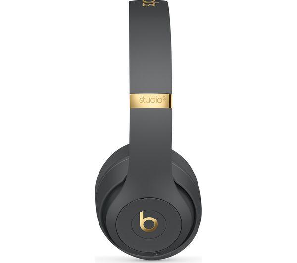 663d58cffaa BEATS Studio 3 Wireless Bluetooth Noise-Cancelling Headphones - Shadow Grey
