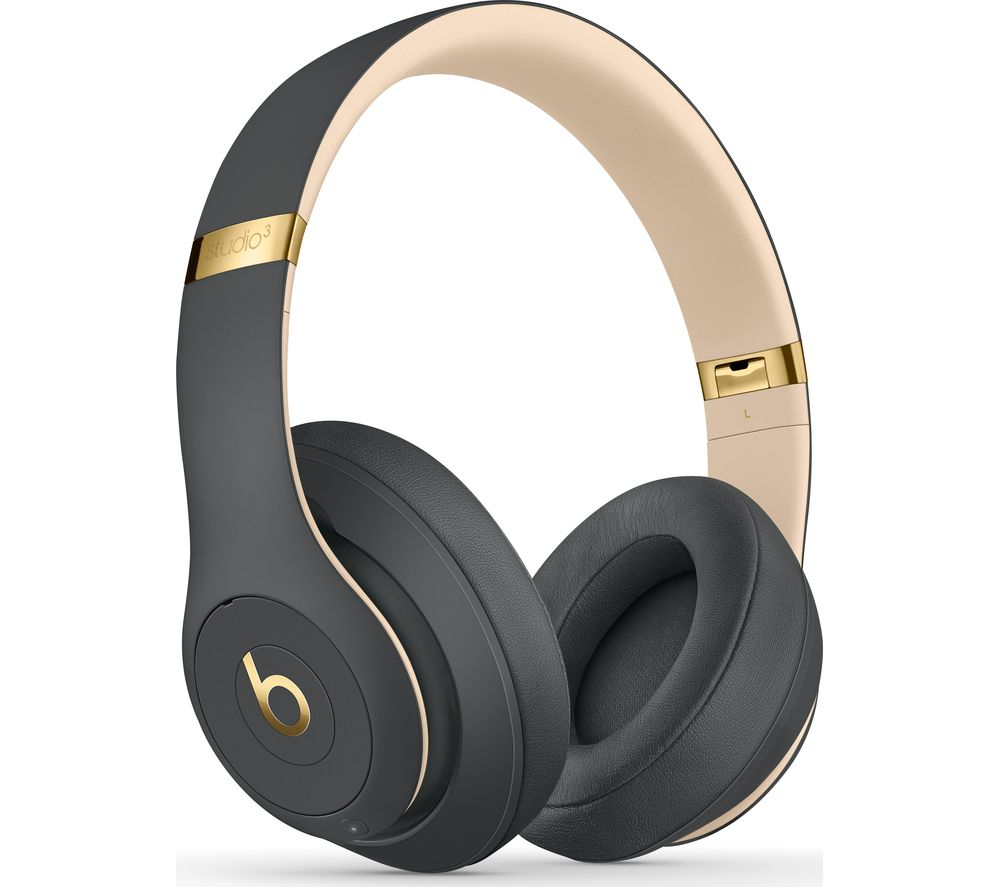 BEATS Studio 3 Wireless Bluetooth Noise-Cancelling Headphones - Shadow Grey