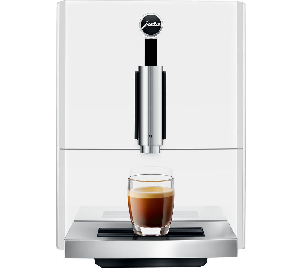 JURA A1 Bean to Cup Coffee Machine – White, White
