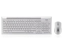 8200P Wireless Keyboard & Mouse Set - White