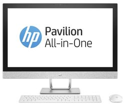 "HP Pavilion 27-r005na 27"" All-in-One PC - Blizzard White"