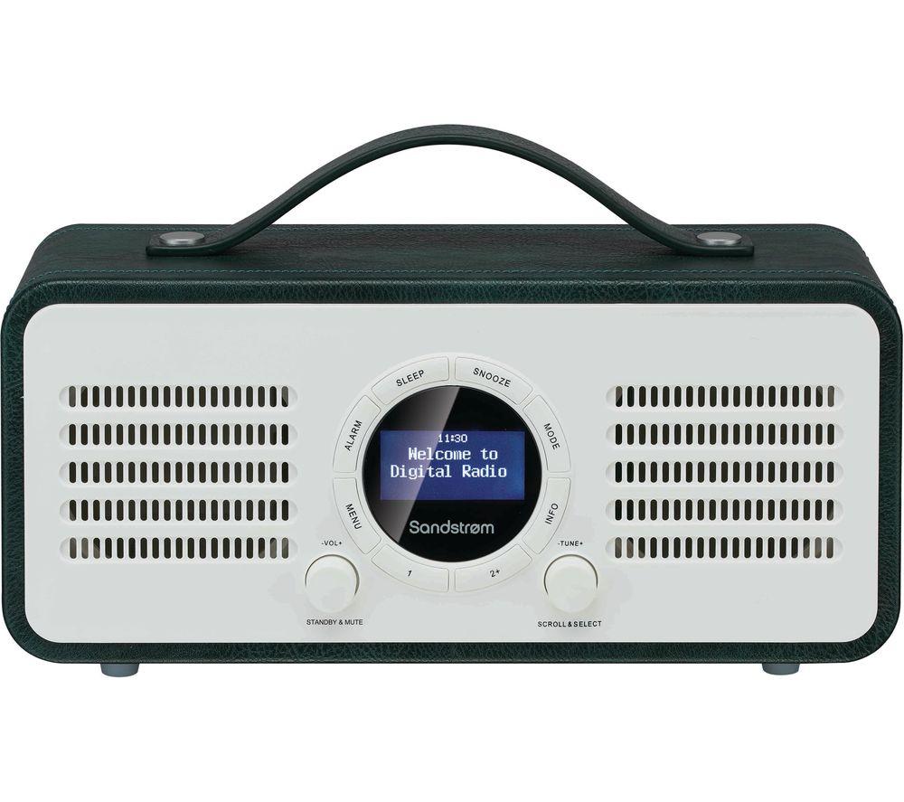 SANDSTROM SL-DBTG18 Portable DAB+/FM Bluetooth Radio - Green