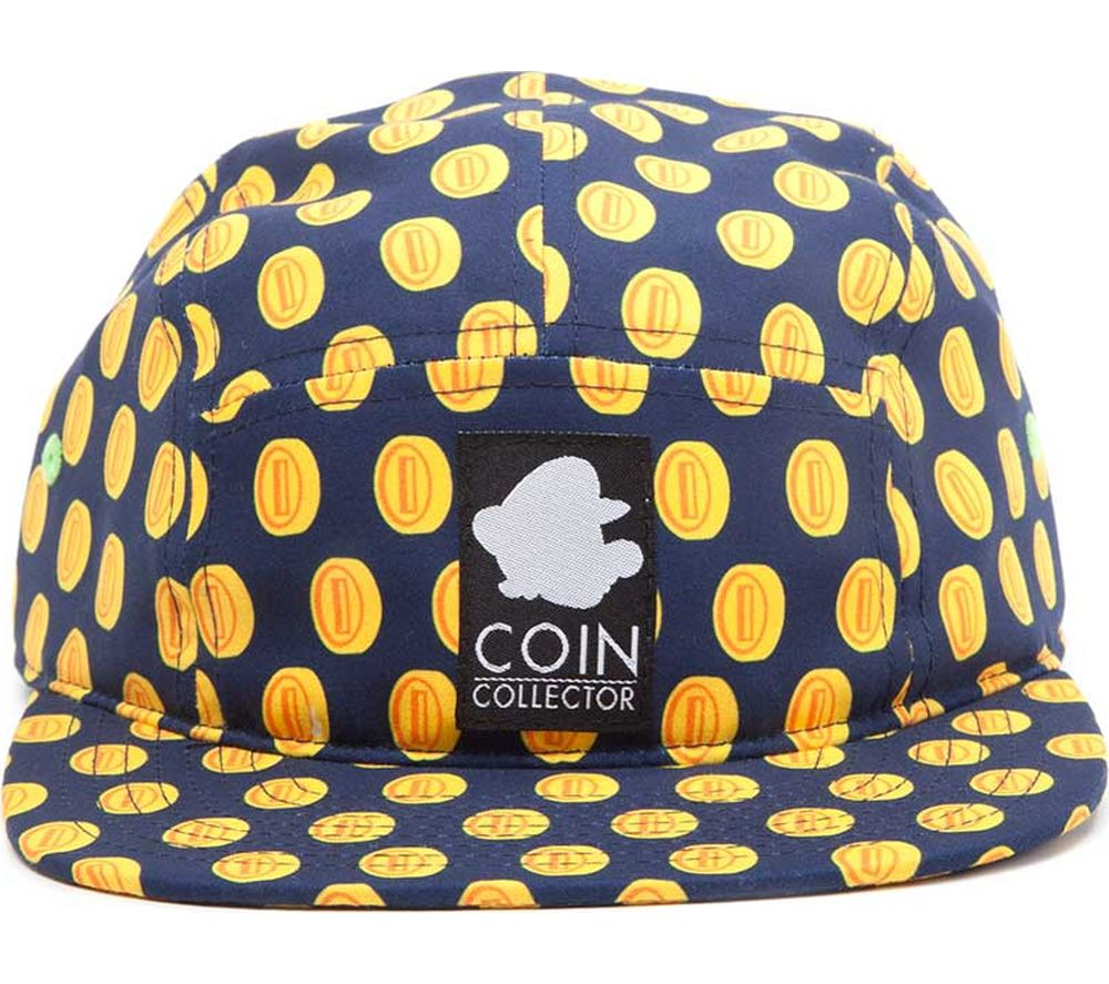 NINTENDO Coin Pattern Camper Hat - Blue & Yellow