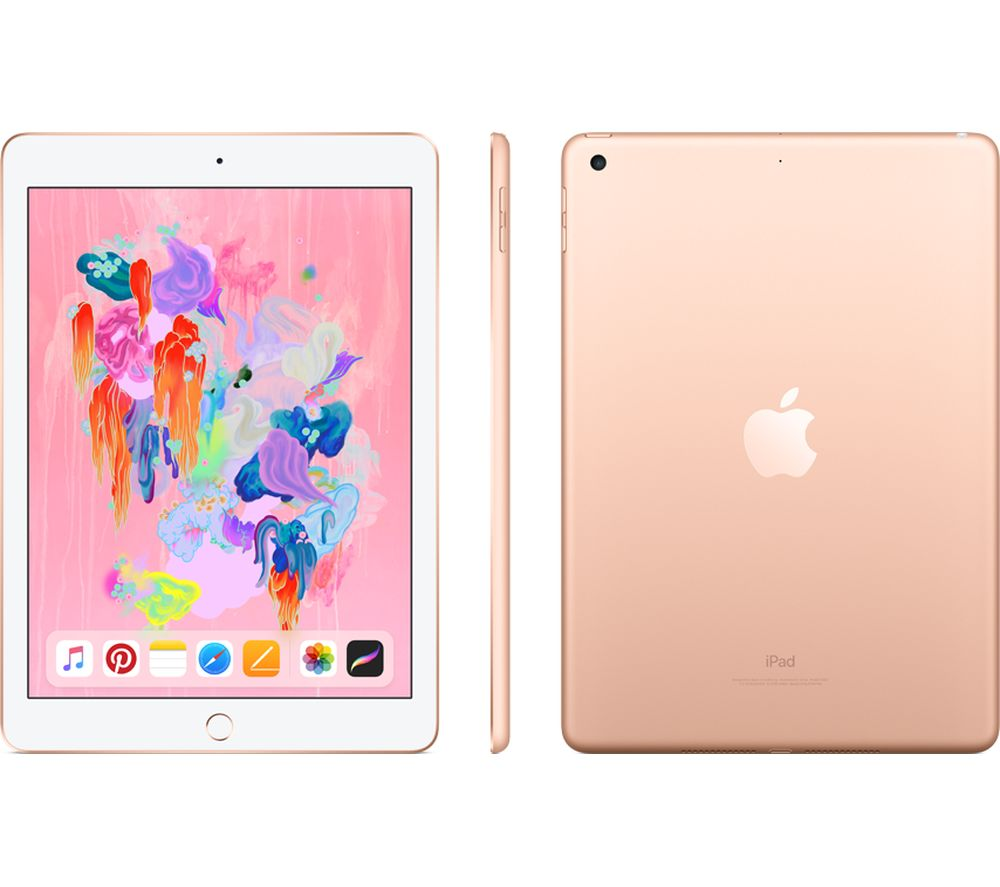 APPLE 9.7 inch iPad - 32 GB, Gold (2018)