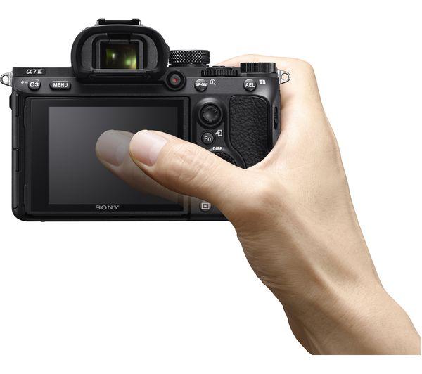SONY a7 III Mirrorless Camera - Black, Body Only