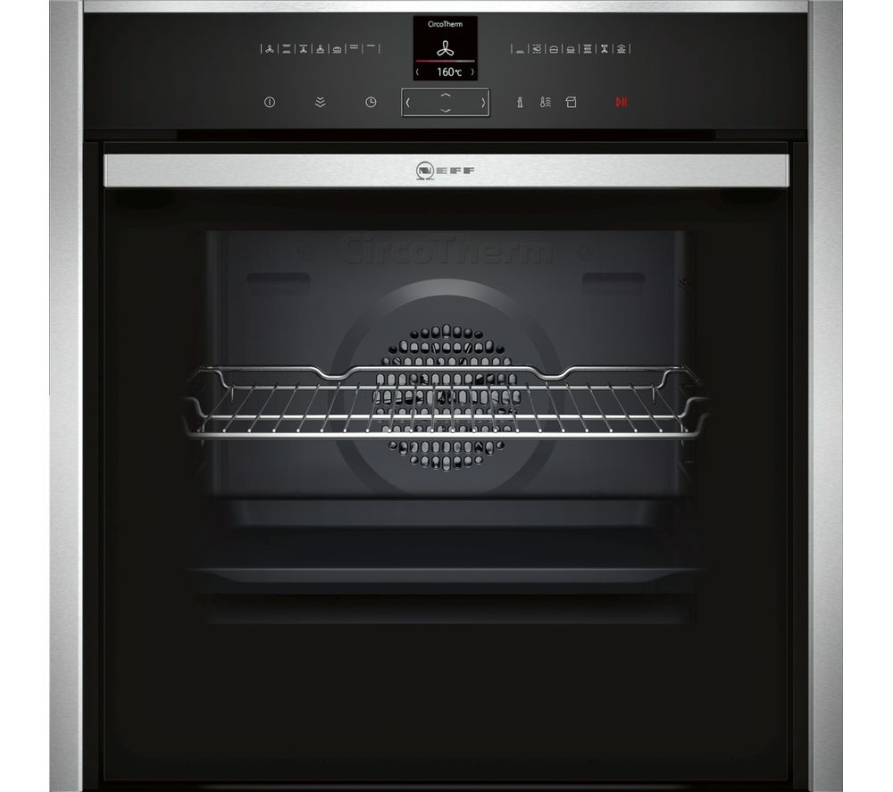 NEFF B57VR22N0B Slide&Hide Electric Steam Oven - Stainless Steel
