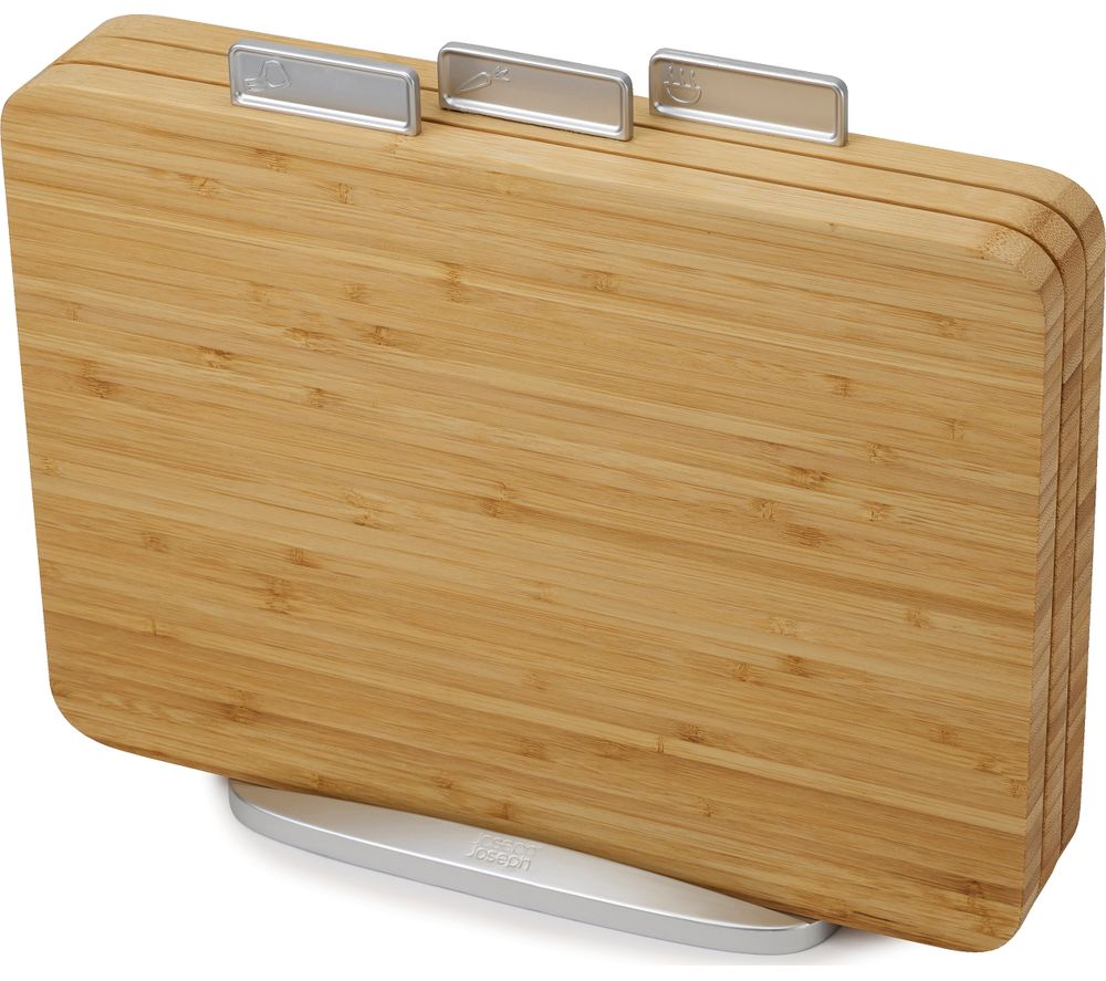 JOSEPH JOSEPH Index Bamboo 3-Piece Chopping Board Set