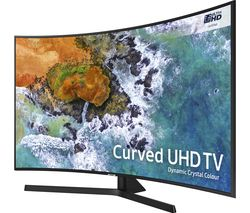 "SAMSUNG UE55NU7500 55"" Smart 4K Ultra HD HDR Curved LED TV"