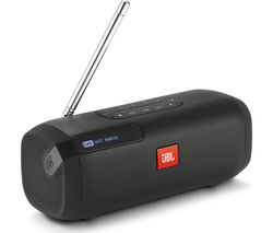 JBL Tuner Portable DAB+/FM Bluetooth Radio - Black