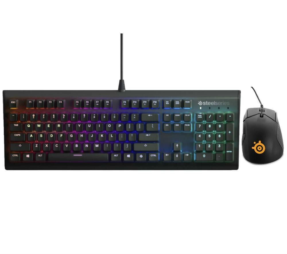 STEELSERIES Apex M750 Mechanical Gaming Keyboard & Rival 310 Gaming Mouse Bundle