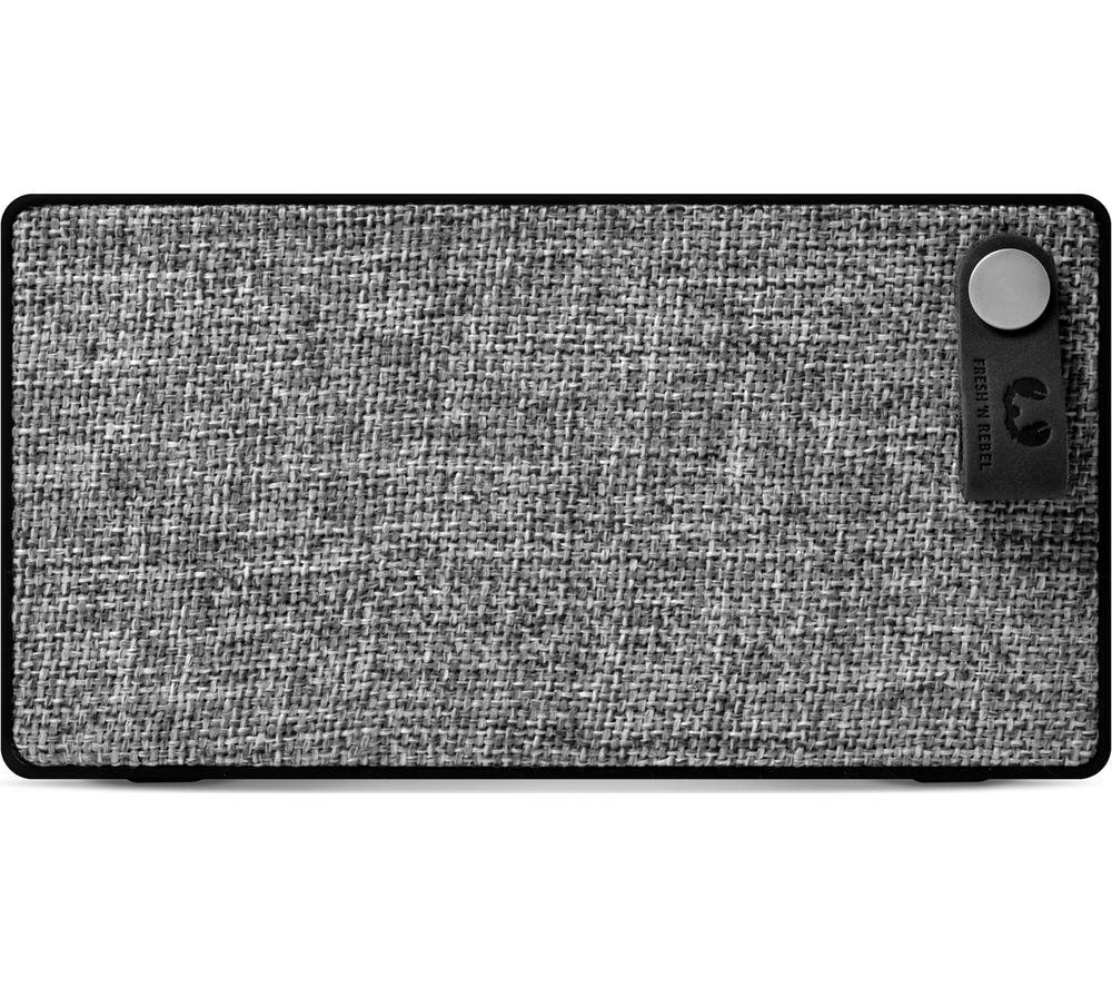 FRESH 'N' REBEL Rockbox Slice Portable Bluetooth Speaker - Black