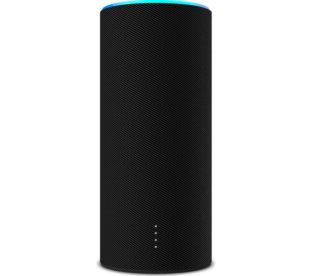 NINETY7 Sky Tote Amazon Echo Battery Base - Carbon Black, Black