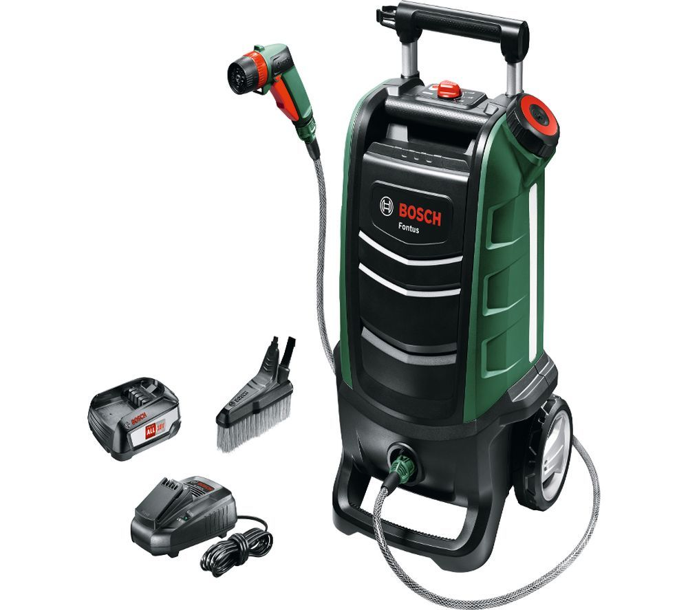 Image of BOSCH Fontus Cordless Leisure Cleaner Pressure Washer - 15 bar